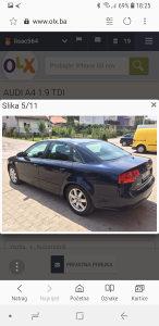 Audi a4 b7 1.9 tdi mod 2006