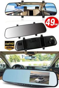 Auto kamera, Full HD + parking kamera, retrovizor kamer