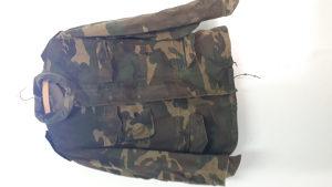 Vojna vjetrovka jakna woodland kamuflažna OSBIH