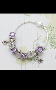 Pandora narukvica zenska srebro 925 srebrena