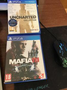 Mafia 3 i Uncharted(nathan drake collection)