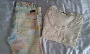 Pantalone s.Oliver i majica dugi rukav