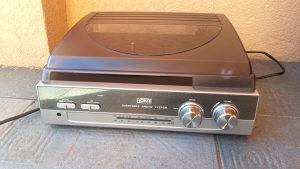 gramofon sa radiom zvucnicima!!