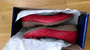 Cipele ženske crvene