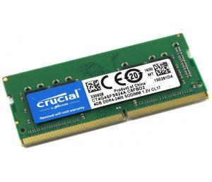 Crucial SO-Dimm 4GB DDR4 2400