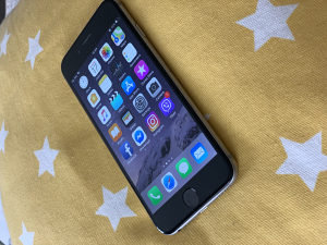 Iphone 6, space gray 16 G, 250 KM