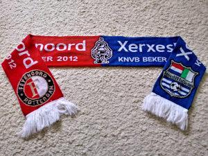 Šal sa utakmice Feyenoord - Xerxes