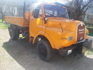 Kamion Man kiper 4x4