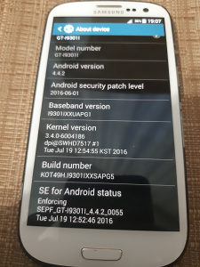 Samsung s3 neo I9301I