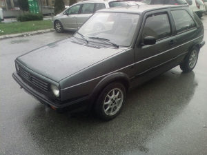 GOLF 2 Turbo dizel 1991god. Registrovan