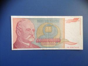 Novčanice JUGOSLAVIJA