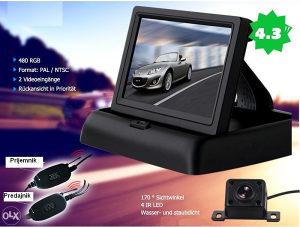 Auto Rikverc Kamera Monitor, Bezicni Sistem