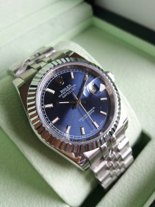 Rolex Oyster Perpetual Datejust Silver Zenski Lady
