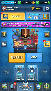 Clash Royale i Clash of Clans account