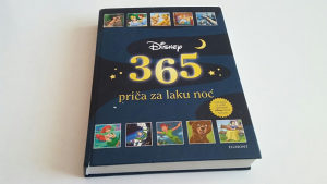DISNEY zbirka priča 365 priča za laku noć