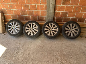 """ALUMINIJSKE FELGE 16"""" 5x112 VW AUDI SEAT SKODA"""
