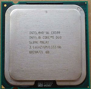 Procesor Intel Core 2 Duo E8500, E8400, E7500, E7400