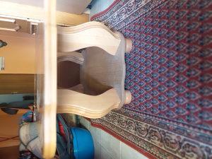 stol drveni 138x67