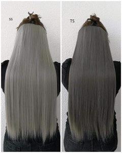 Ekstezije na kosu u raznim bojama