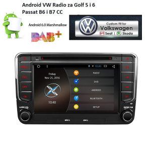VW Golf 5 6 Android , Passat 6, RNS 510, navigacija