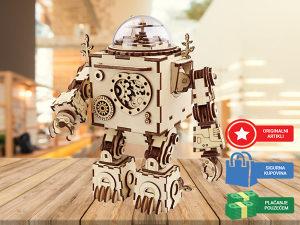 Drvene 3D puzle za djecu i odrasle Robot puzzle