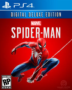 MARVELS SPIDER-MAN DIGITAL DELUXE EDITION PS4