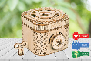Drvene 3D puzle za djecu i odrasle Kutija puzzle