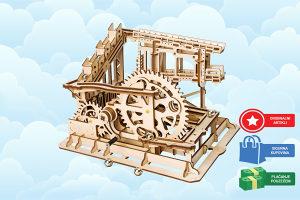 Drvene 3D puzle za djecu i odrasle Cog coaster puzzle
