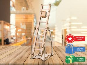Drvene 3D puzle za djecu i odrasle Ljuljaška puzzle