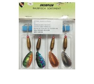 Set varalica za ribolov Skorpion - Raubfisch (4/13g)