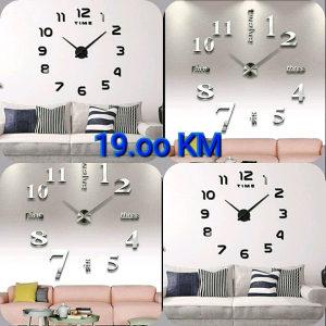 Sat zidni 3d veliki satovi dekorativni