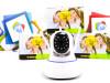 WiFi PTZ kamera microSD FHD kvalitet, 2.0 MPx