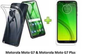 Maska i Staklo Motorola Moto G7/ G7 Plus