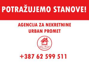 Urban Promet Potražuje: Stanove u Sarajevu