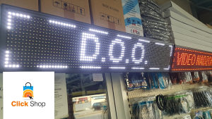 SVJETLECA LED REKLAMA 100cm X 20cm REKLAME