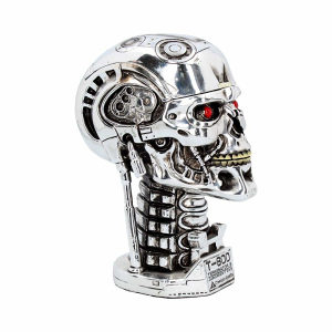 Terminator glava statua