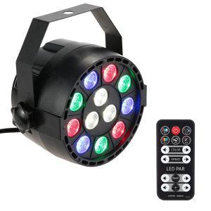 LED Spot DMX Multicolor sa daljinskim, Disko