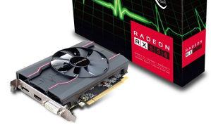 SAPHIRE PULSE RADEON RX 550 4GB GDDR5 HDMI/DVI-D/DP OC