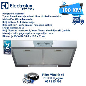 Napa Electrolux EFT 635X