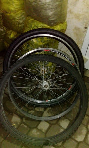 Felge i gume za biciklo 26