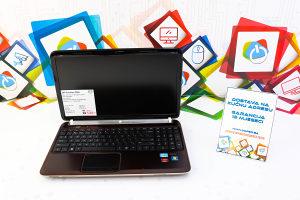 Laptop HP Pavilion DV6; i7-2670QM; 8GB RAM; 180GB SSD