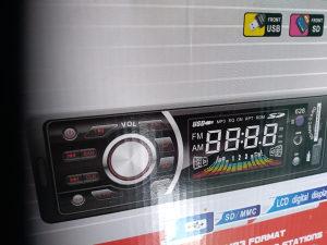 Radio za kamine 24 v, usb stic, fm stanice,
