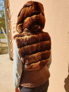 Kratka bunda prsluk krzno moze zamjena