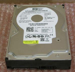 HARD DISK SATA 250 GB