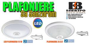 PLAFONJERA/PLAFONJERE/LAMPA SA SENZOROM POKRETA