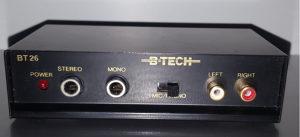 Gramofonsko pretpojačalo, te za slušalice i mikrofon