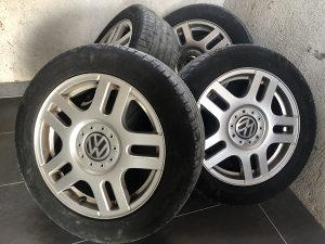 "FELGE 16"" 5x100 / VW GOLF 4 / ORIGINAL / sa gumama..."