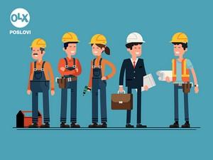 Posao - Monter suhe gradnje, knaufer
