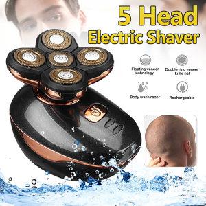 Električni brijač sa 5 pokretnih glava
