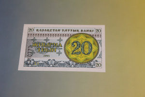 KAZAHSTAN UNC 20 tiljin 1993